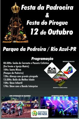 FESTA DA PADROEIRA E FESTA DO PIROGUE